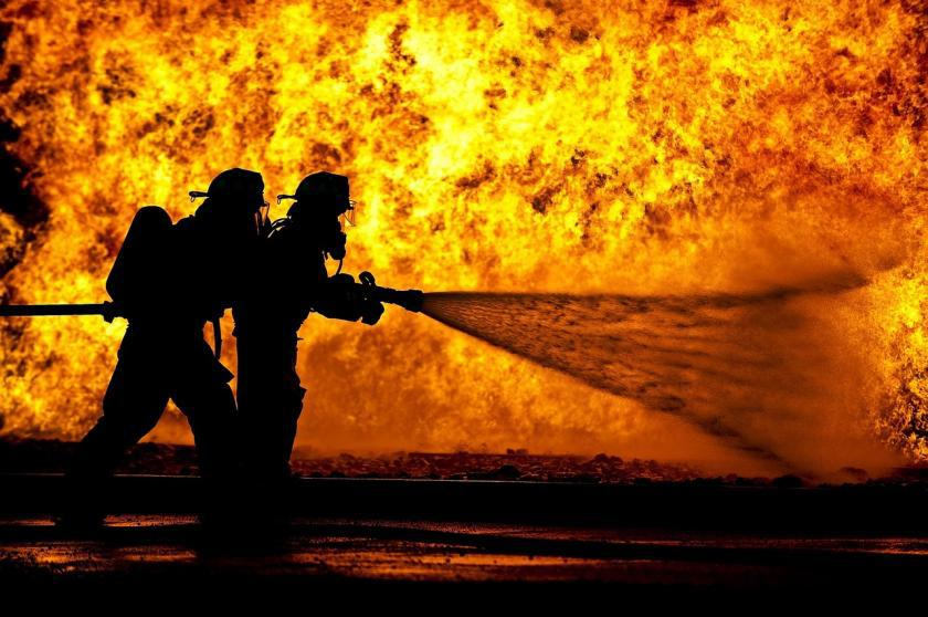 OUR BRAVE FIREFIGHTERS