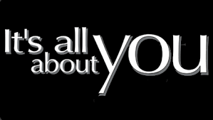 IT'S ALL ABOUTYOU
