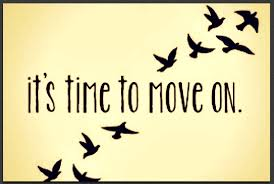YOU MOVED ON